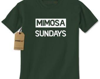 Mimosa Sundays Brunch Mens T-shirt