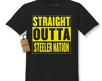 Pittsburgh steelers etsy for Custom t shirt printing pittsburgh