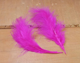 50pcs Feathers,Turkey Feathers,Roseo Feathers,Fluffy Feathers,Bulk,Natural Feathers,Wholesale Feathers (13cm - 18cm long)