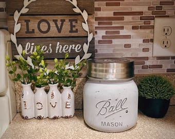 Half Gallon Mason Jar