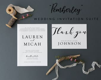 Wedding Invitation, Wedding Invitations, Invitation Wedding, Invitations Wedding, Floral Wedding, Printable Invitation, Invitation Template