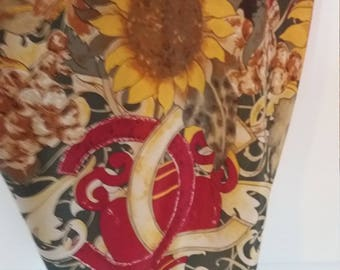 Sunflower Silk Halter (Made from vintage Chanel kerchief)