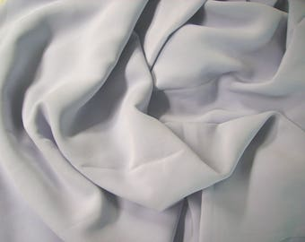 No. 142 fabric viscose polyester non froissable soft effect to the touch-color sky blue