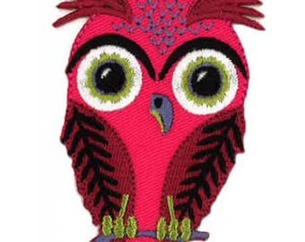 OWL Patch, fusible/decal sticker badge