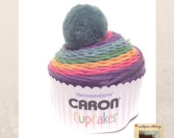 Caron Cupcakes Yarn, Candy Buttons
