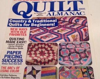 Quilts almanac magazine