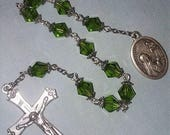 St Margaret Mary Alacoques straight line rosary