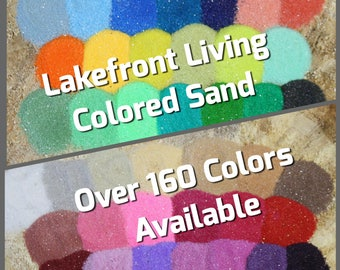 Colored Sand for Wedding Sand Unity Ceremony - 2 Colors