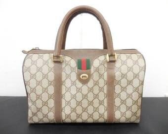 Gucci vintage boston bag / satchel