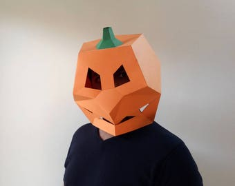halloween maskpumpkin