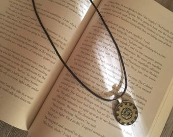 Steampunk Gears Resin Necklace