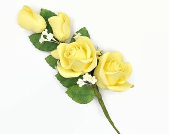 Yellow Rose Spray