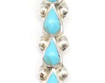 Long Turquoise Pendant