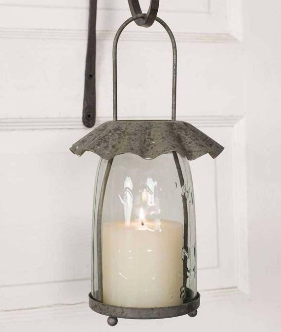 Tart Pan Mason Jar Candle Lantern