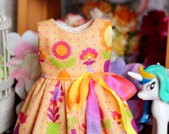 New Summer Sleeveless Dresses for Blythe /Azone/Licca or Similar Doll