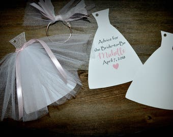 Bridal Shower Advice, Words of Wisdom, Advice for Bride and Groom, Advice Book, Marriage Advice Tags, Bridal Shower Idea, Bridal Shower Game