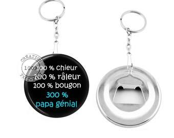 Keychain bottle opener / 100% dad