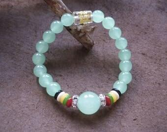 Aventurine 8 mm Beads Bracelet