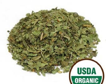 Lemon Verbena Leaf C/S, Organic 1 Pound (16 oz)