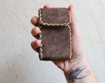 Handmade Leather Cigarette Case