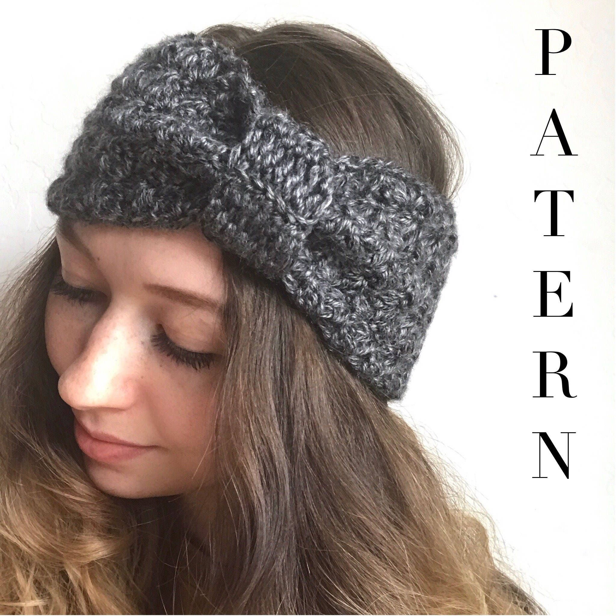 Crochet headband pattern the nora ear warmer boho crochet this is a digital file bankloansurffo Choice Image