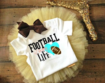 football baby outfit, football baby girl clothes, football baby bodysuit, custom football bodysuit, fall baby shower gift, fall baby clothes