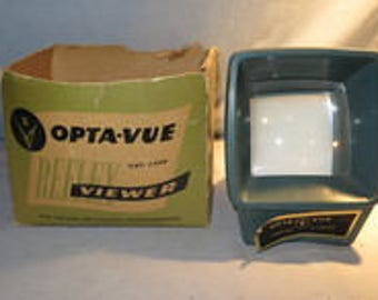Vintage Green OPTA-VUE #420 Reflex Viewer