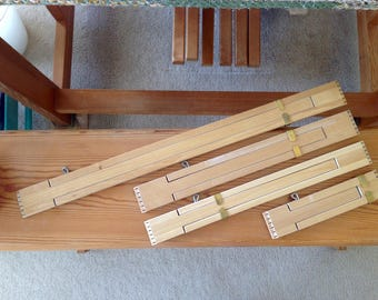 Weaving Temples All Sizes Fully Adjustable Handy Tool! SUPER FAST Shipping