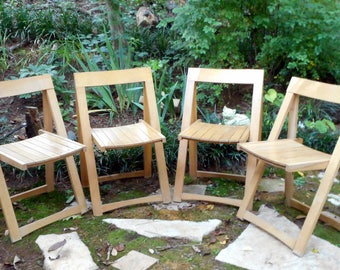 mid century wood folding chairs portable wooden chairs