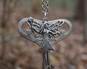 Fairy - Skeleton Key Necklace