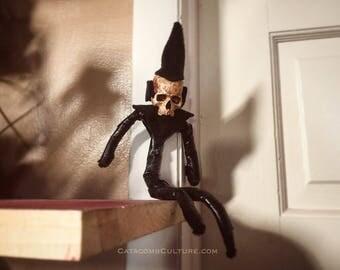 Goth Elf on the Shelf