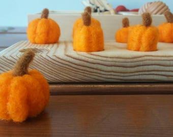 Montessori Math, Ten Frame, Reggio Emilia, Common Core, Felted Wool