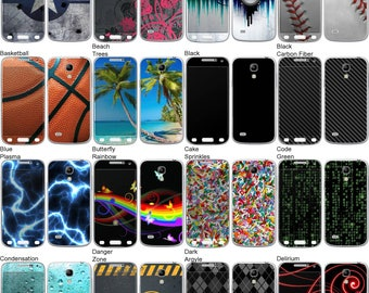 Choose Any 2 Designs - Vinyl Skins / Decals / Stickers for Samsung Galaxy S4 Mini Android Smartphone