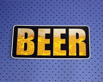 Beer Bumper Sticker