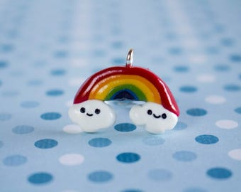 Polymer Clay Kawaii Rainbow