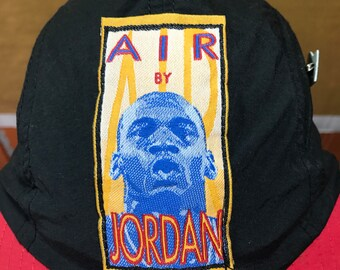 Rare 80s Vintage Nike Air By Jordan Cap Adult Size