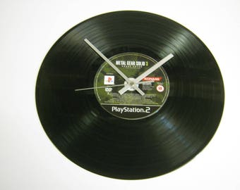 Metal Gear Solid Special Unique CD Record Wall Clock Gift
