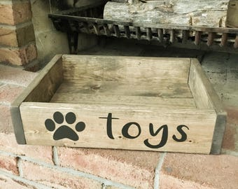 Dog Toy Box/Crate