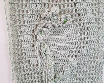 Goddess/ Mother Earth Goddess/ Banner/ crochet banner