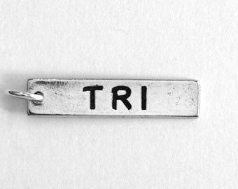 Running Jewelry, TRI Running Charm