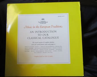 An Introduction To Our Classical Catalogue DGG 004 251