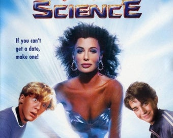 Back to School Sale: WEIRD SCIENCE Movie POSTER John Hughes 80's