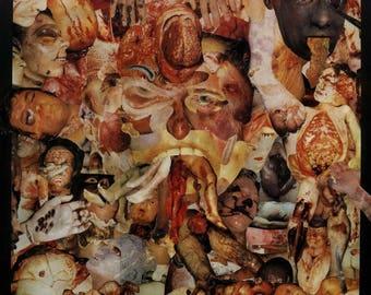 Halloween Spooktacular CARCASS - Reek Of Putrefaction Art Print Poster 12 x 12