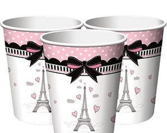 Party in Paris Party Cups