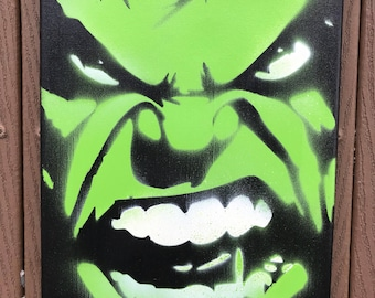 Marvel Comic Stencil Etsy