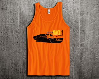 Ford Mustang Mach1 Tank Top, Ford t shirts, Mustang shirts, cars tanks, Muscle car t shirts, Ford Mustang Unisex Tank top by Motomotiveink