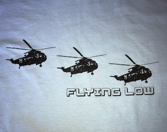 Disco Biscuits Shirt-Helicopters-Adult Uni T Shirt Sizes S M L XL XXL