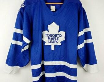 Vintage CCM Toronto Maple Leafs Hockey Jersey NHL Medium
