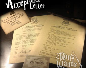 The Acceptance Letter