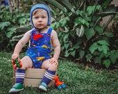 Dinosaur Baby Romper, Gender Neutral, Boys, Girls, Romper, Cake Smash Outfit, Toddler Romper, Baby Rompers, Summer Romper, Newborn Romper